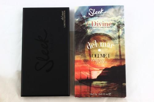 Schon die Verpackung der Sleek Del mar ist in sommerlichem Limited Edition Design <3