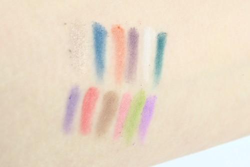 Alle Farben (Reihenfolge wie in der Palette)