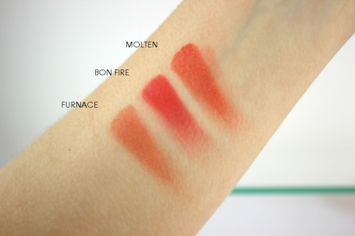 Sleek Blush By 3 Flame Swatch