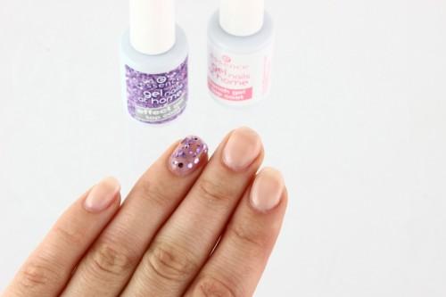 Die fertigen Gel Nails1 Yay! :D