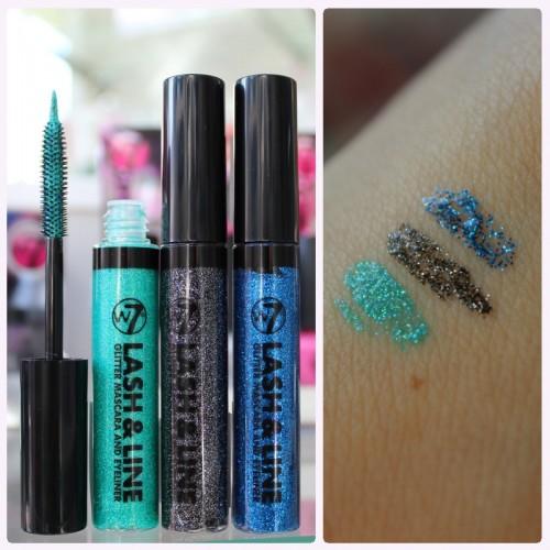 Lash & Line bedeutet Eyeliner und Mascara in einem. Besonders das Grün hat es mir angetan ;)