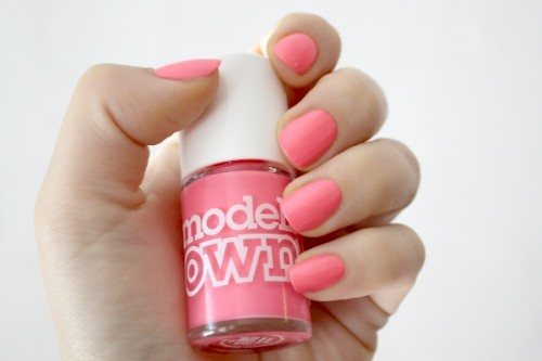 models own polish for tans shades